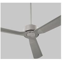 Oxygen Lighting 3-107-24 Solis 56 inch Satin Nickel Outdoor Ceiling Fan