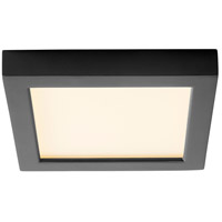 Oxygen Lighting 3-333-15 Altair LED 7 inch Black Flush Mount Ceiling Light