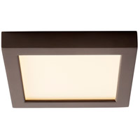 Oxygen Lighting 3-333-22 Altair LED 7 inch Oiled Bronze Flush Mount Ceiling Light
