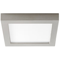 Oxygen Lighting 3-333-24 Altair LED 7 inch Satin Nickel Flush Mount Ceiling Light