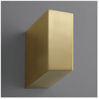 Oxygen Lighting 3-500-40 Uno 1 Light 3 inch Aged Brass Wall Sconce Wall Light