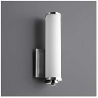Oxygen Lighting 3-5000-20 Tempus LED 5 inch Polished Nickel Wall Sconce Wall Light
