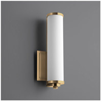 Oxygen Lighting 3-5000-40 Tempus LED 5 inch Aged Brass Wall Sconce Wall Light