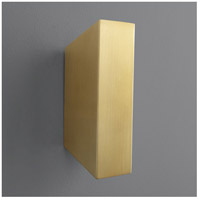 Oxygen Lighting 3-509-40 Duo 2 Light 3 inch Aged Brass Wall Sconce Wall Light