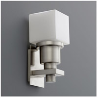 Oxygen Lighting 3-5110-24 Elements 1 Light 4 inch Satin Nickel Wall Sconce Wall Light