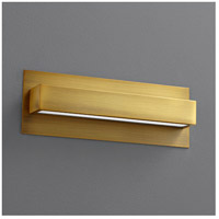 Alcor 1 Light 13 inch Aged Brass Wall Sconce Wall Light