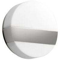 Oxygen Lighting 3-551-20 Aurora LED 6 inch Polished Nickel Sconce Wall Light
