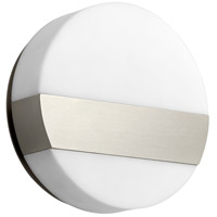 Oxygen Lighting 3-551-24 Aurora LED 6 inch Satin Nickel Sconce Wall Light