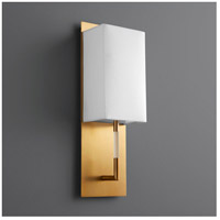 Epoch 1 Light 5 inch Aged Brass Sconce Wall Light