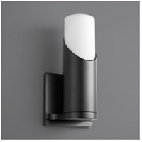 Oxygen Lighting 3-567-115 Ellipse LED 5 inch Black Wall Sconce Wall Light