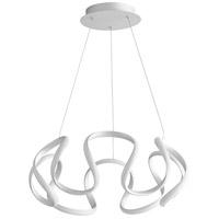 Oxygen Lighting 3-60-30 Cirro LED 22 inch Silver Graphite Pendant Ceiling Light