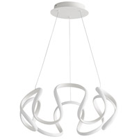 Oxygen Lighting 3-60-6 Cirro LED 22 inch White Pendant Ceiling Light