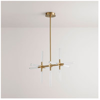 Oxygen Lighting 3-603-40 Tali LED 9 inch Aged Brass Pendant Ceiling Light