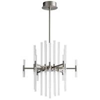 Oxygen Lighting 3-605-24 Miro LED 26 inch Satin Nickel Pendant Ceiling Light