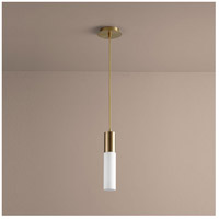Magneta 1 Light 3 inch Aged Brass Pendant Ceiling Light