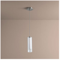Gratis 1 Light 4 inch Satin Nickel Pendant Ceiling Light