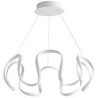 Oxygen Lighting 3-61-6 Cirro LED 28 inch White Pendant Ceiling Light