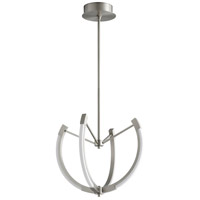 Oxygen Lighting 3-6140-24 Utopia LED 21 inch Satin Nickel Pendant Ceiling Light