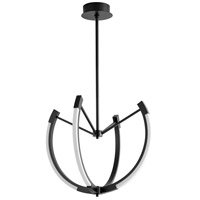Oxygen Lighting 3-6141-15 Utopia LED 28 inch Black Pendant Ceiling Light