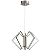 Oxygen Lighting 3-6142-24 Acadia LED 25 inch Satin Nickel Pendant Ceiling Light