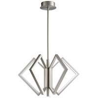 Oxygen Lighting 3-6143-24 Acadia LED 30 inch Satin Nickel Pendant Ceiling Light