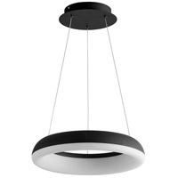 Oxygen Lighting 3-62-15 Roswell LED 16 inch Black Pendant Ceiling Light