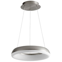Oxygen Lighting 3-62-24 Roswell LED 16 inch Satin Nickel Pendant Ceiling Light