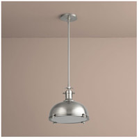 Vida 1 Light 17 inch Satin Nickel Pendant Ceiling Light