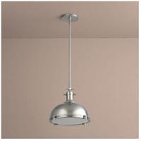 Oxygen Lighting 3-6203-24 Vida 1 Light 17 inch Satin Nickel Pendant Ceiling Light
