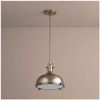 Vida 1 Light 17 inch Satin Copper Pendant Ceiling Light
