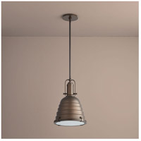 Sigma 1 Light 14 inch Oiled Bronze Pendant Ceiling Light
