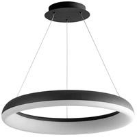 Oxygen Lighting 3-63-15 Roswell LED 24 inch Black Pendant Ceiling Light