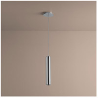 Galaxy 1 Light 3 inch Polished Chrome Pendant Ceiling Light