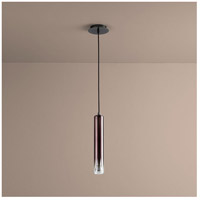 Galaxy 1 Light 3 inch Gunmetal Pendant Ceiling Light