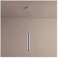 Idol 1 Light 3 inch Polished Chrome Pendant Ceiling Light