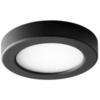 Oxygen Lighting 3-644-15 Elite LED 6 inch Black Flush Mount Ceiling Light