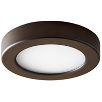 Oxygen Lighting 3-644-22 Elite LED 6 inch Oiled Bronze Flush Mount Ceiling Light
