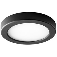 Oxygen Lighting 3-645-15 Elite LED 7 inch Black Flush Mount Ceiling Light