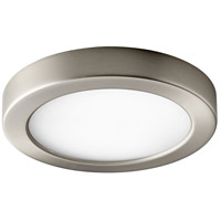 Oxygen Lighting 3-645-24 Elite LED 7 inch Satin Nickel Flush Mount Ceiling Light