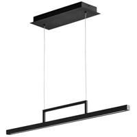 Oxygen Lighting 3-66-15 Stylus LED 34 inch Black Linear Pendant Ceiling Light