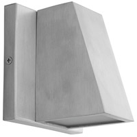 Oxygen Lighting 3-708-16 Titan LED 5 inch Brushed Aluminum Outdoor Wall Sconce