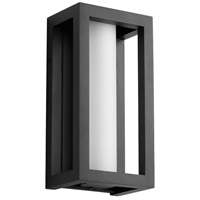 Oxygen Lighting 3-722-15 Aperto LED 12 inch Black Outdoor Wall Sconce