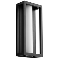 Oxygen Lighting 3-724-15 Aperto LED 18 inch Black Outdoor Wall Sconce