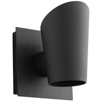 Oxygen Lighting 3-732-15 Pilot LED 6 inch Black Outdoor Wall Sconce