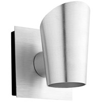 Oxygen Lighting 3-732-16 Pilot LED 6 inch Brushed Aluminum Outdoor Wall Sconce