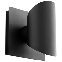 Oxygen Lighting 3-733-15 Caliber LED 6 inch Black Outdoor Wall Sconce