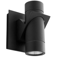 Oxygen Lighting 3-746-15 Razzo LED 6 inch Black Outdoor Wall Sconce
