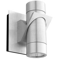 Oxygen Lighting 3-746-16 Razzo LED 6 inch Brushed Aluminum Outdoor Wall Sconce