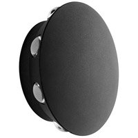 Oxygen Lighting 3-747-15 Rickie LED 6 inch Black Outdoor Wall Sconce