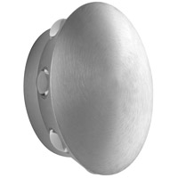 Oxygen Lighting 3-747-16 Rickie LED 6 inch Brushed Aluminum Outdoor Wall Sconce